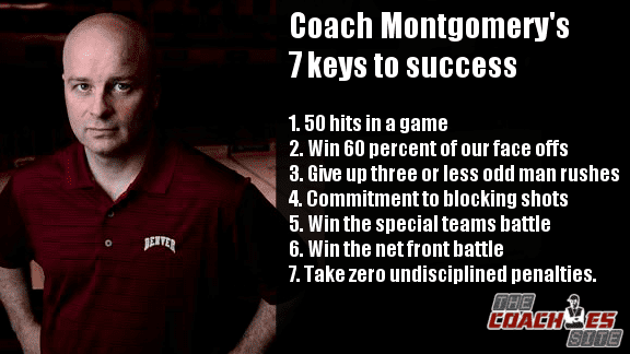 Jim Montgomery Denver Hockey 7 Keys to Success
