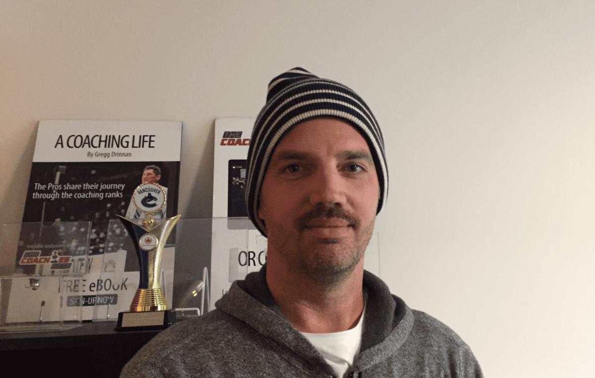 Derek Popke Moustache Vancouver Hockey School