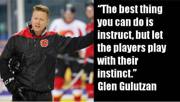Glen Gulutzan Hockey Sense Calgary Flames Head Coach