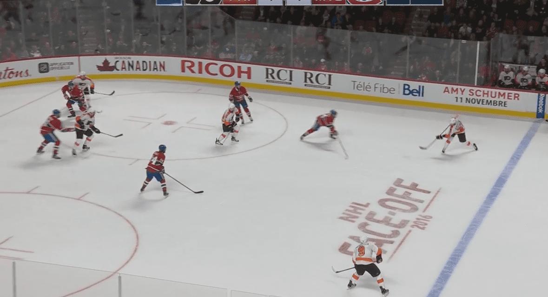 Philadelphia Flyers Ryan Stimson Simplifying the Game of Ice Hockey