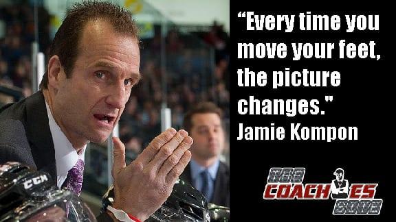 Jamie Kompon Winnipeg Jets Ice Hockey Coach Tips and Drills