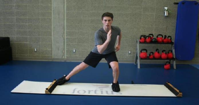 Fortius HockeyStrong Glide Platform Adam Nugent Hopkins Molley O'Brien