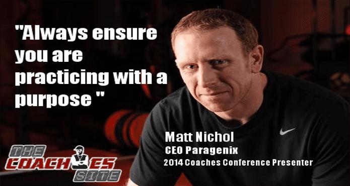 Matt Nichol Biosteel Long Term Athlete Development Ice Hockey Coach Tips and Drills
