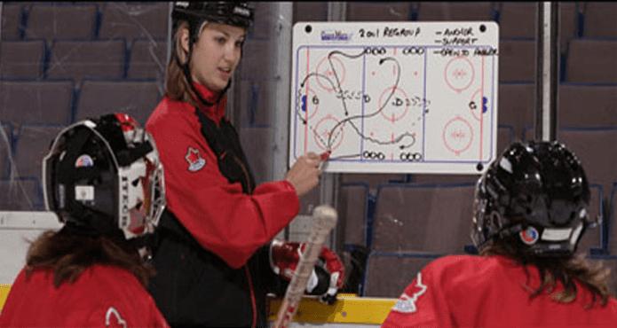 Grading Hockey Coach Kelvin Cech Drills