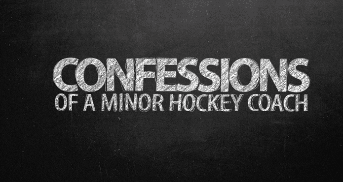 Confessions of a Minor Hockey Coach Ice Hockey Parent
