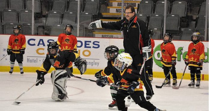 Ted Suihkonen Hockey Academy 10 Rules fir coaching kids Ice Hockey Coach Tips and Drills