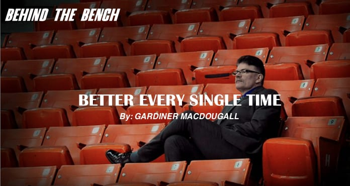 Gardiner MacDougall Better Every Single Time UNB Ice Hockey Coach Tips and Drills