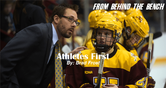 Brad Frost Athletes First Ice Hockey Coach Tips and Drills