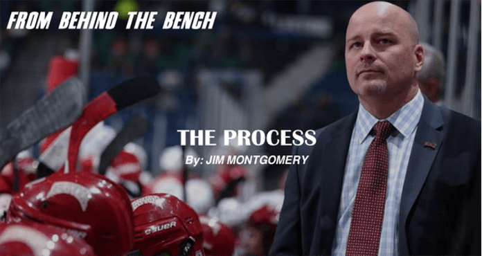 Jim Montgomery The Process Denver Ice Hockey Coach Tips and Drills