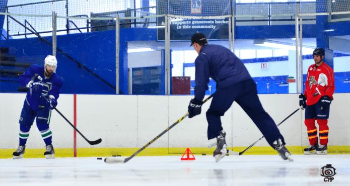 Derek Popke Ice Hockey Passing Coach Tips and Drills