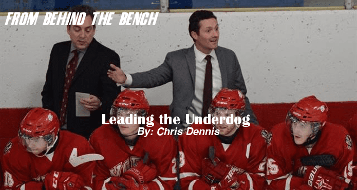 Leading Underdog Chris Dennis York Ice Hockey Coach Tips and Drills