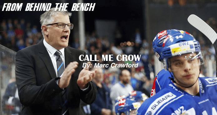Marc Crawford Call Crow Ice Hockey Coach Tips and Drills Ottawa Senators