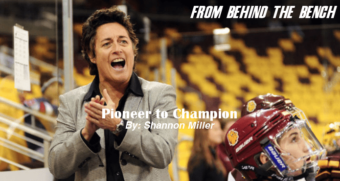 Shannon Miller Pioneer to Champion Ice Hockey Coach Tips and Drills