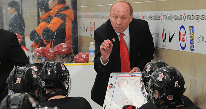 Ice Hockey Coach Offensive Team play Tips and Drills Ken Babey Team Canada