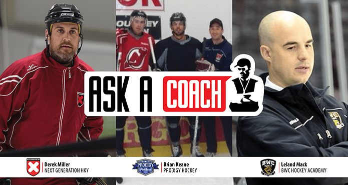 Ice Hockey Training Coach Foundation young players Tips and Drills