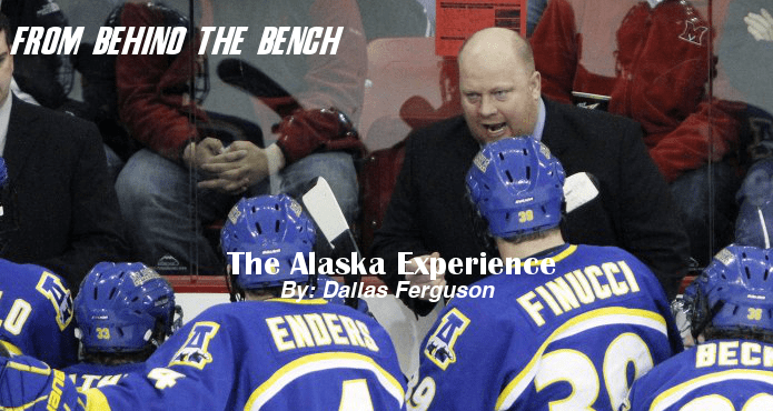 Dallas-Ferguson-Alaska-experience-From-Behind-The-Bench Ice Hockey Coach Tips and Drills