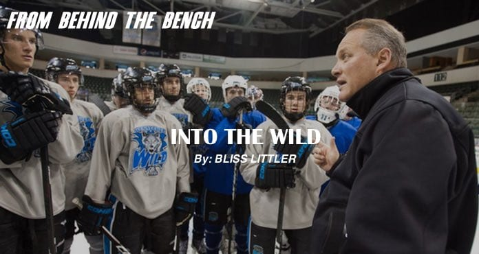 Wenatchee Wild Bliss Littler Ice Hockey Coach Tips and Drills