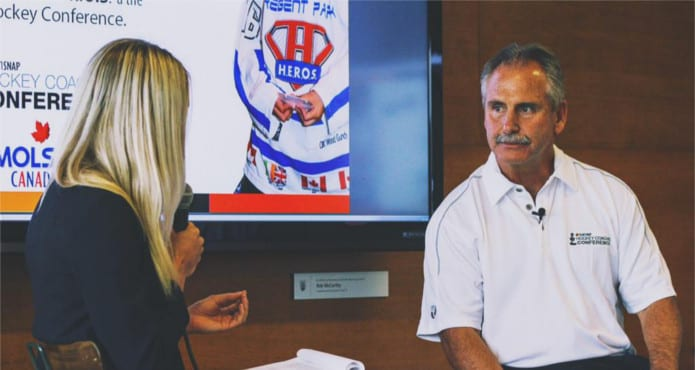Willie Desjardins Vancouver Canucks Ice Hockey Coach Leadership HEROS