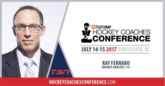 Ray Ferraro TSN Ice Hockey Coach Conference