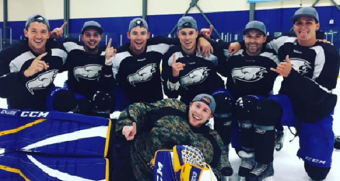 Kelvin Cech UBC Mens Ice Hockey Coach Tips and Drills Surviving September