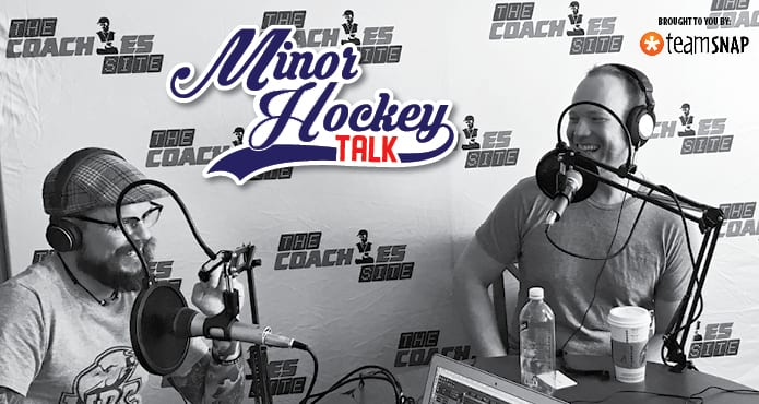 Minor Hockey Talk Kris Beech Hockey Ice Hockey Coach Tips and Drills Podcast Mindfulness Fundraising fundraiser mark bachman flipgive