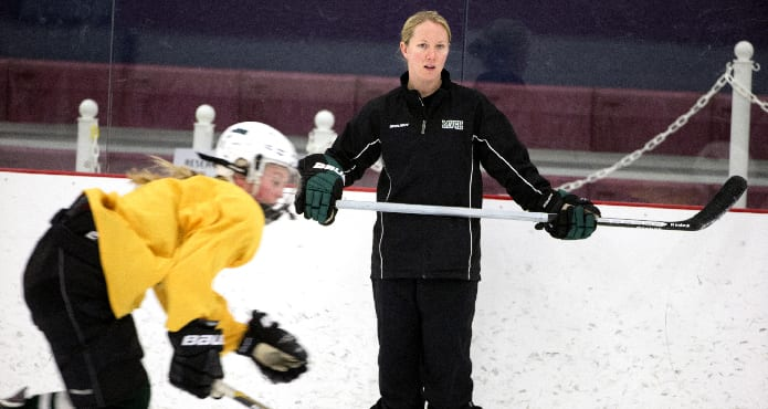 Mike Pickles Understanding Players Ice Hockey Coach Tips and Drills