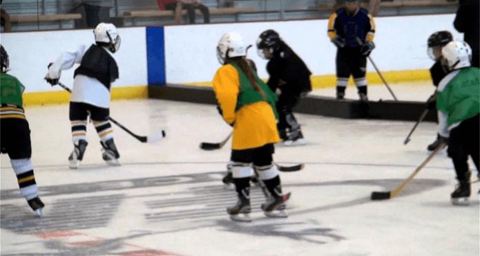 Cross Ice Hockey Austin Matthews Aaron Wilbur Kelvin Cech Coach Tips and Drills