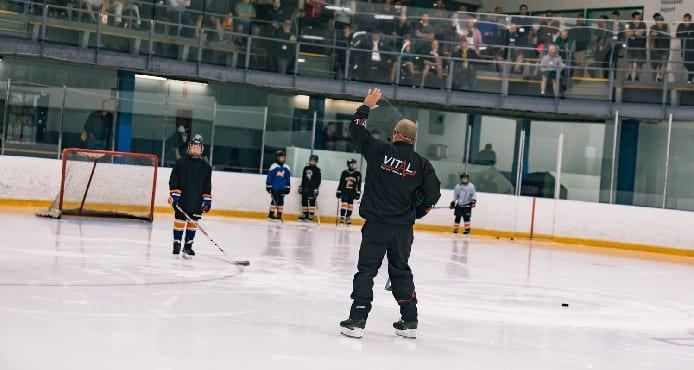 Jim Vitale Vital Hockey Skills Mastering Ice Skating Edges Tips and Drills