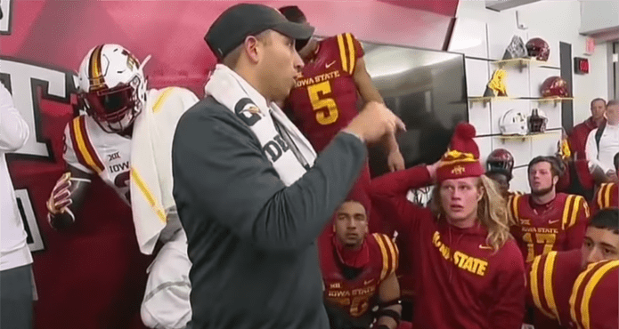 Matt Campbell Iowa State Head Football Coach on team above self falling in love with the process Kelvin Cech Ice Hockey Coach Tips and Drills
