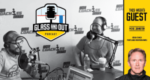 Mike Johnston Glass and Out Podcast Aaron Wilbur Kelvin Cech Junior Hockey Ice Hockey Tips and Drills