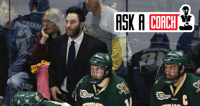Kyle Wallach As a Coach Ice Hockey Tips and Drills University of Vermont academics preperation