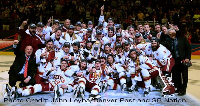 Kelvin Cech Home Stretch Ice Hockey Coach Tips and Drills Denver Pioneers