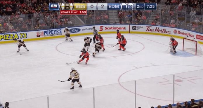 Kelvin Cech Power Play Boston Bruins David Pastarnak Ice Hockey Coach Tips and Drills