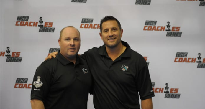 Steve Spott Bob Boughner Ice Hockey Tips and drills Teamsnap Hockey Coaches Conference