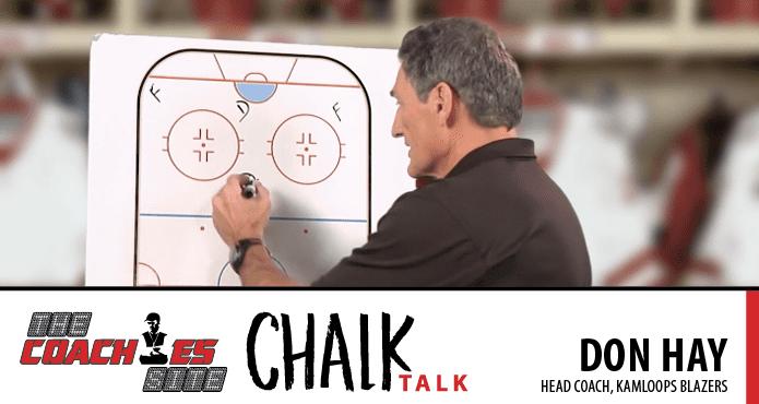 WHL Don Hay Chalk Talk Kamloops Blazers Ice Hockey Coach