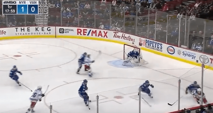 John Becanic Ice Hockey Video Escapes Puck Possession