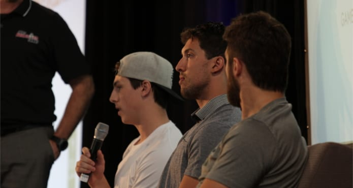 NHL Players Panel Ice Hockey Coach Tips and Drills Tanner Glass Brenden Dillon Ryan Nugent-Hopkins