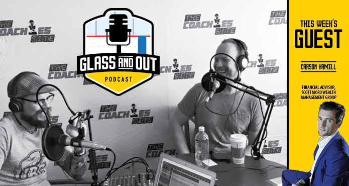 Carson Hamill Does Hockey Need to be this expensive Podcast Glass and Out