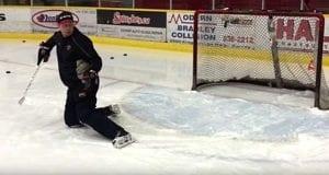Sean Murray Eye Trajectory Proformance Goaltending school Ice Hockey