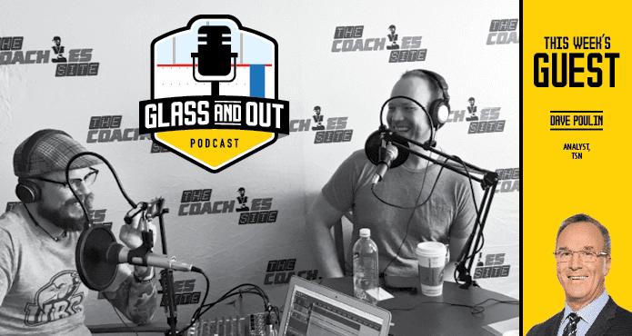 Dave Poulin TSN OMHA Podcast Glass and Out Ice Hockey