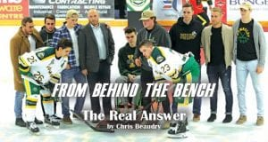 Chris Beaudry Humbolt Broncos From Behind the Bench