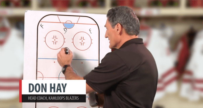 don hay, who, Kamloops blazers, chalk talk