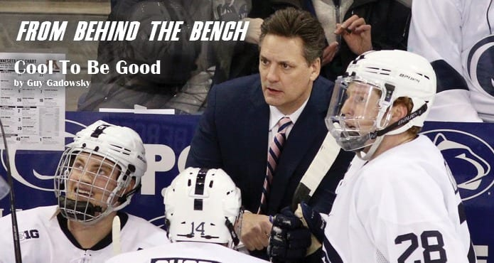 Guy Gadowsky Penn State Nittany Lions Ice Hockey Head Coach NCAA