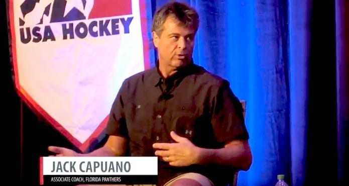 jack capuana Florida panthers NHL interview