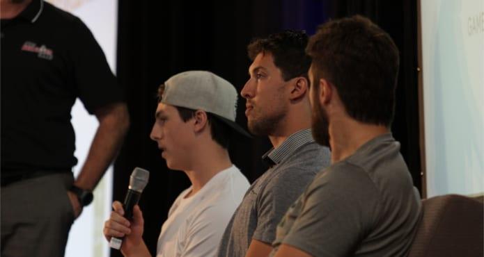 Ryan nugget hopkinds, Brendan Dillion, Edmonton oilers, San Jose sharks, tanner glass, nhl players