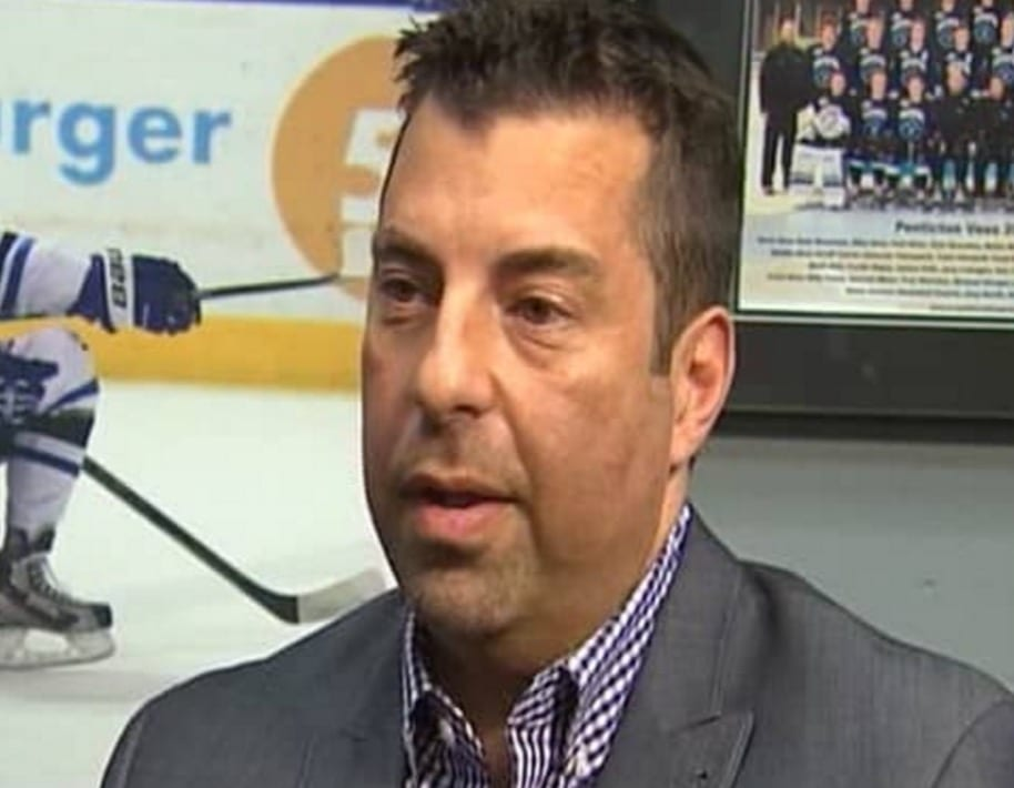 fred harbinson, bchl, Pentiction vees, interview