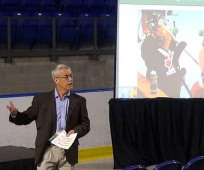 dr Lawerence spirit, gatorade, hockey player development