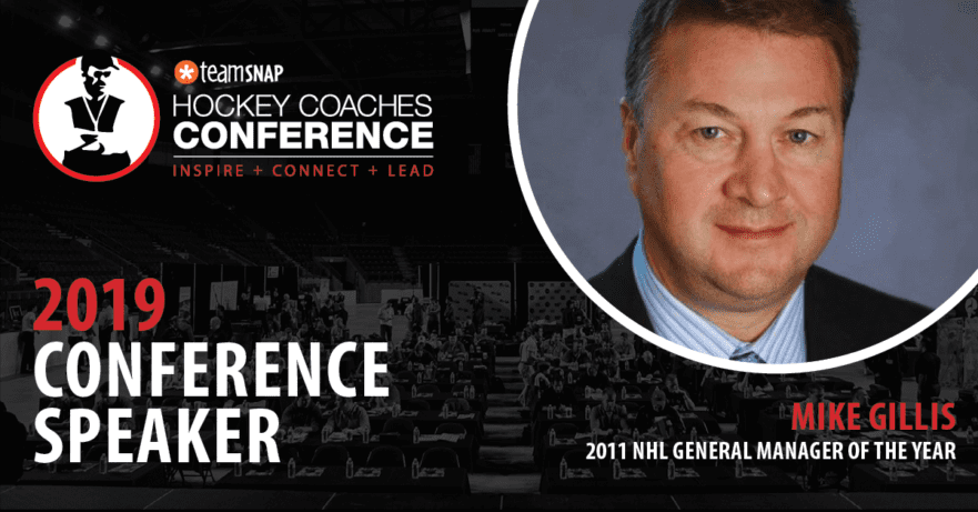 Mike Gillis 2019 TeamSnap Hockey Coaches Conference