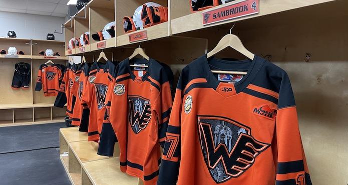 Winkler Flyers Dressing Room