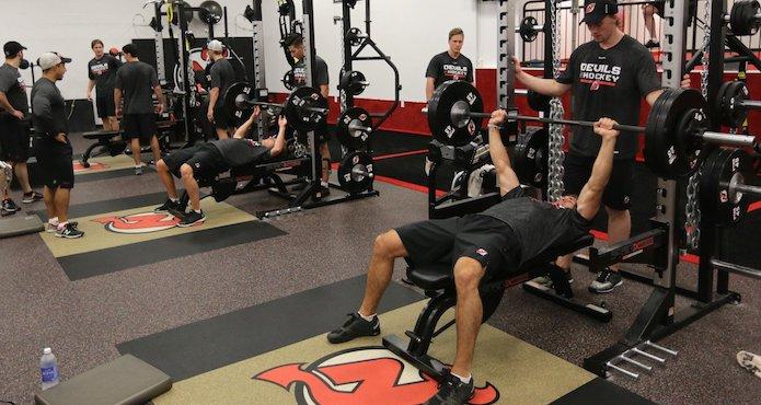 new jersey devils gym